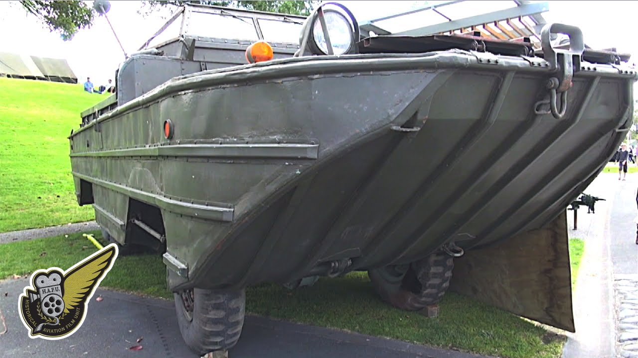 Ww2 Dukw Amphibious Truck General Motors Youtube