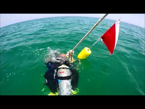 Diving Bateen breakwater (W), NCB and OCB, Abu-Dhabi 27/8/2016
