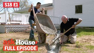 ASK This Old House | Sliding Barn Door, Dry Well (S18 E1) FULL EPISODE
