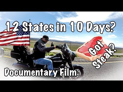 12 State Cross-Country Motorcycle Trip Documentary Film