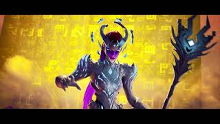 Fortnite The Cube Queen Arrival Trailer and Skin showcase