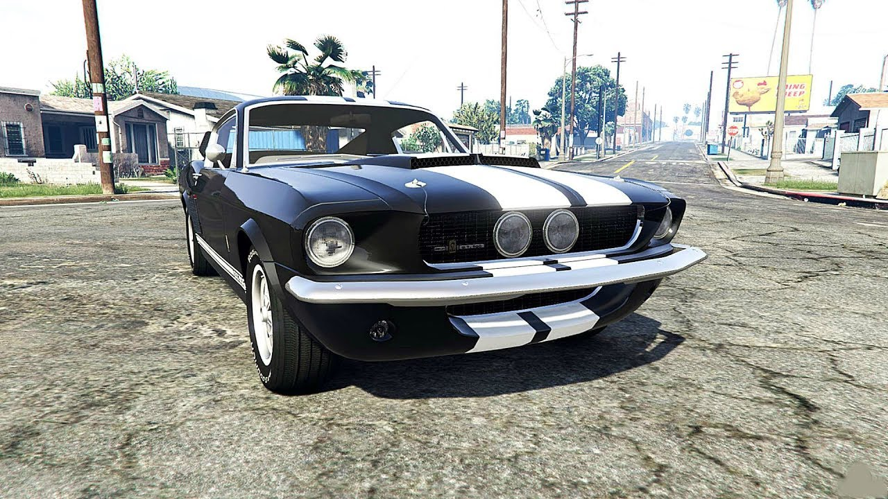 Awesome Ford Shelby Mustang GT500 Eleanor 1967 ! Car Mod ...