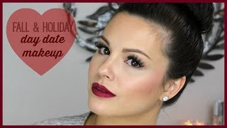 Fall & Holiday Day Date Makeup Tutorial Thumbnail