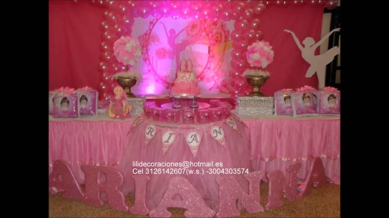 Decoracion Ballet Youtube