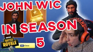 Fortnite: How to get John Wic in Season 5