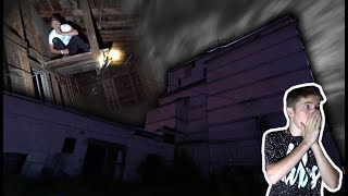 CREEPY HIDE AND SEEK IN ABANDONED ELEVATOR SHAFT!