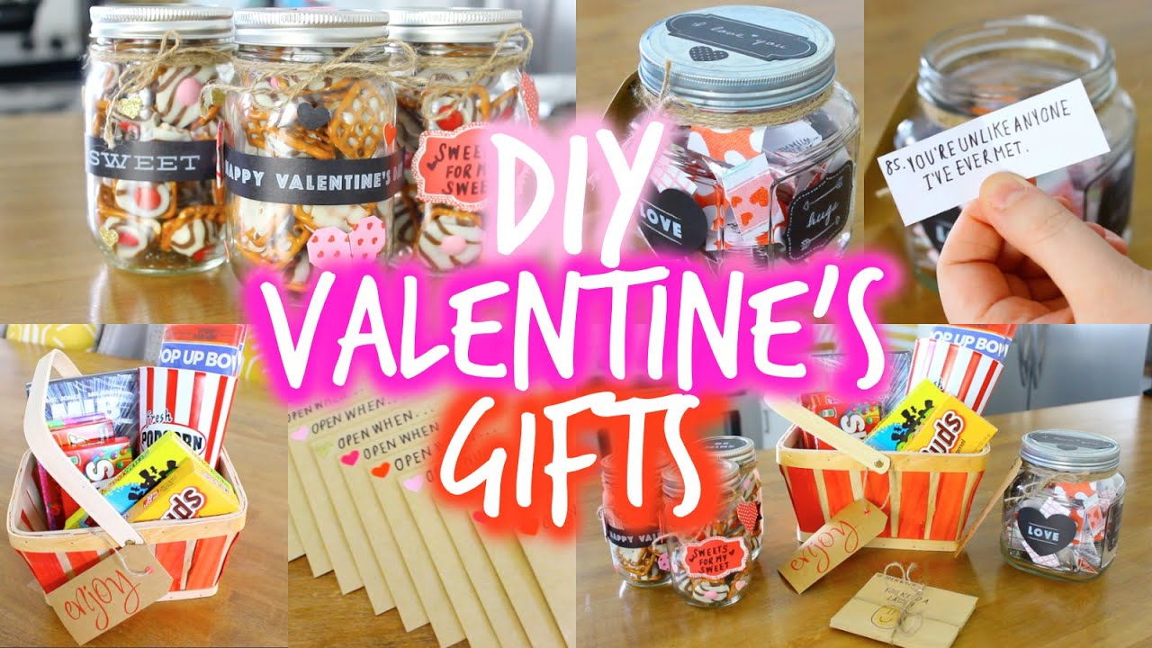 EASY DIY Valentines Day Gift Ideas For Your Boyfriend