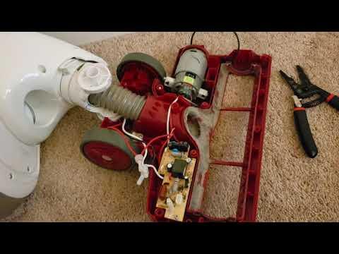 Shark Rotator Vacuum Brush not spinning