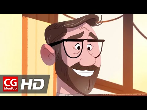 "CGI Animated Short Film: ""The Man Who Lost His Smile"" by Blame Your Brother 