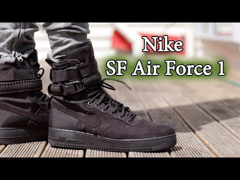 Nike SF Air Force 1 High | Velvet Brown | ON FEET WITH