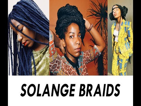 WE TRIED BUTT LENGTH BOX BRAIDS FOR BLACK PANTHER | SOUTH AFRICAN BEAUTY BLOGGERS/ 4C NATURAL HAIR