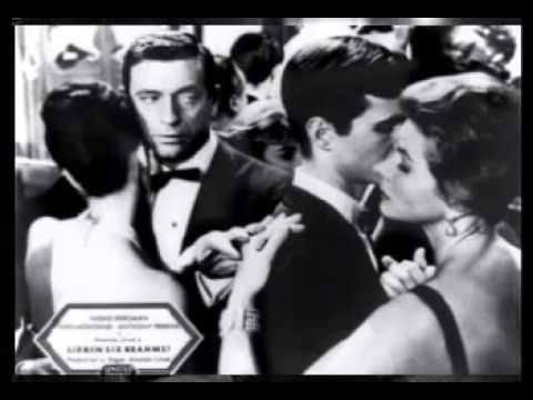 Musique Film - Aimez-Vous Brahms 1961 ( Yves Montand ).avec la participation de Diamant Noir