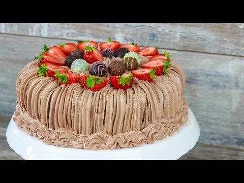 Türkische Krem Santi Torte - Krem Şanti Torte / Sahnetorte