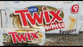 Twix Cookie Bars (Germany) vs Twix White Fingers (UK) Blind Taste Test