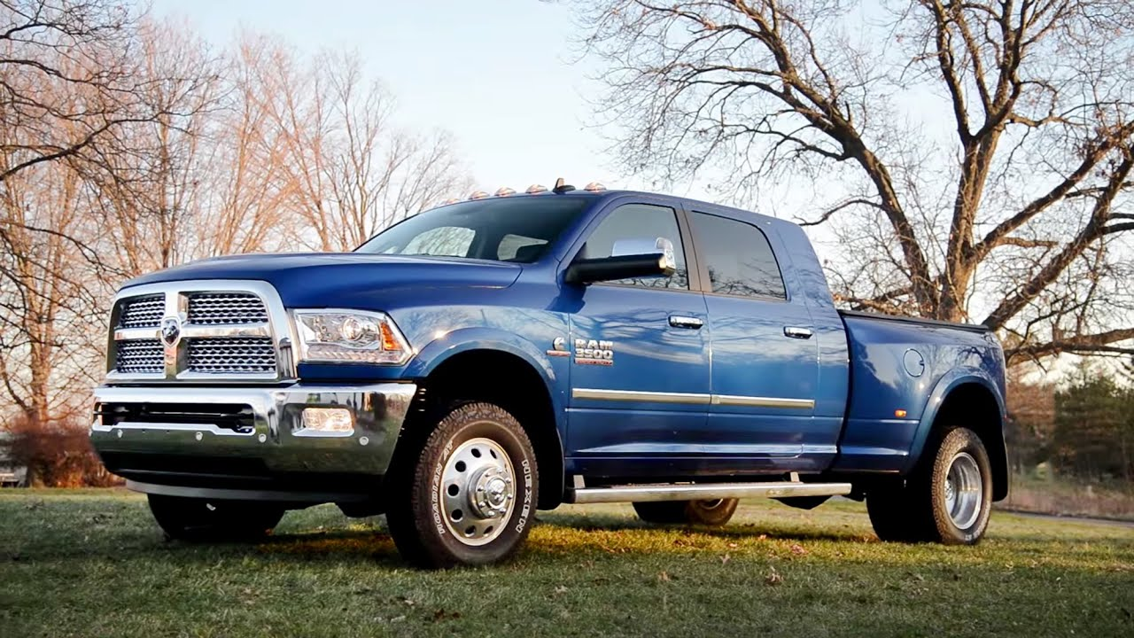 2016 ram 3500 laramie mega cab dually wr tv sights sounds youtube. Black Bedroom Furniture Sets. Home Design Ideas