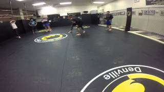 Russian to Judo Throw in No-Gi Submission Wrestling Class (part 1 of 3)