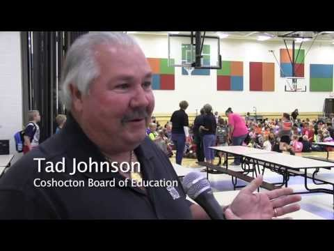 Coshocton Elementary School Opening Day