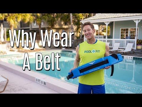 Why Wear A Flotation Belt In Deep Water Fitness