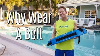 Why Wear a Flotation Belt in Deep Water Fitness