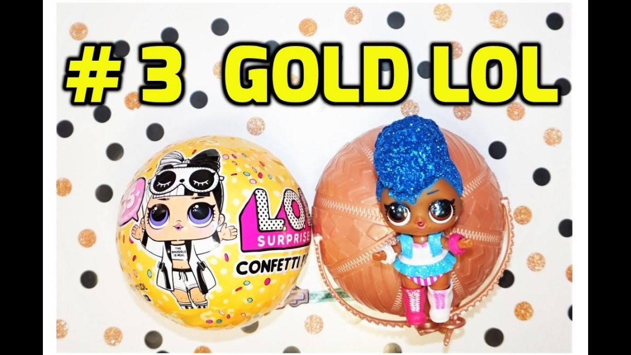 Lol Wave 2 Gold Ball Weight Hack Confetti Pop Series 3 Opening