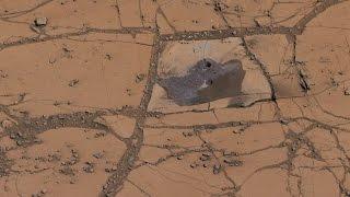 NASA's Curiosity Mars Rover Finds Mineral Match #MysteryHunter