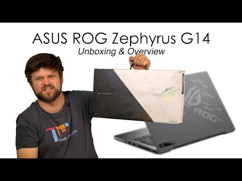 ASUS ROG Zephyrus G14 | Unboxing & Overview | TechManPat