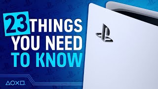 PS5: 23 Things You Need To Know About PlayStation 5