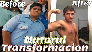 TRANSFORMACION GYM NATURAL 12 MESES 140KG / TRANSFORMATION GYM