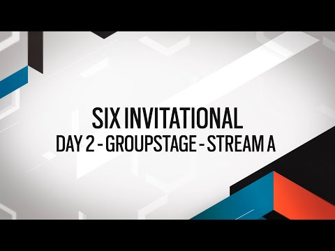 Rainbow Six: Six Invitational 2020 – Groupstage – Day 2 – Stream A