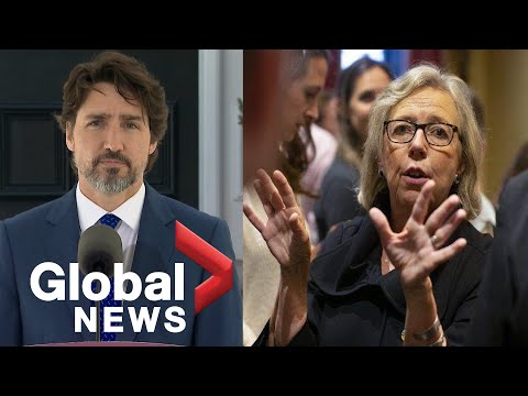 "Justin Trudeau says he disagrees with Elizabeth May, Yves Blanchet that ""oil is dead"" in Canada"