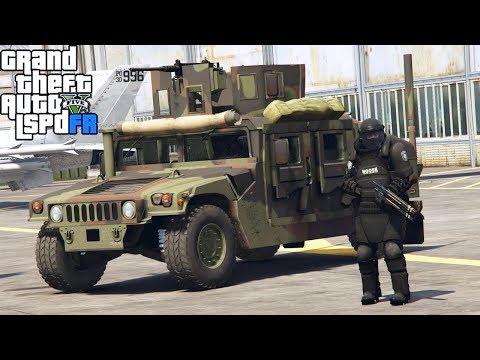 GTA 5|LSPDRF #184|MILITARES VS ALIENS - INVADEN LA CIUDAD - GUERRA ALIEN |EdgarFtw thumbnail