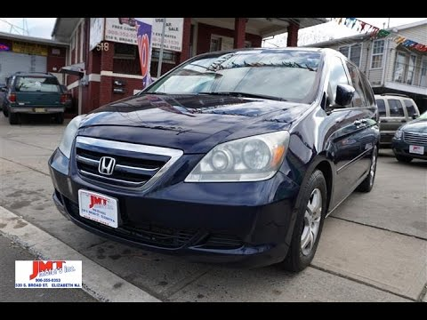 2005 honda odyssey ex l for sale in elizabeth nj youtube for Honda odyssey for sale nj