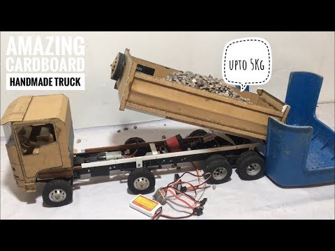 RC Homemade Remote Control Duty Heavy Dumper Off Road Truck 8x8 Body Setup