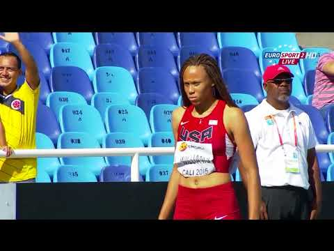 Candace Hill 22 43 Breaks 200m World Youth Record!!!