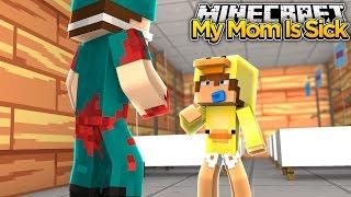 Minecraft Family #17 - BABY DUCKS MOM IS SICK - Baby Duck Adventures