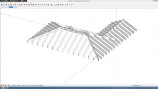 Simple Roof Design In Sketchup
