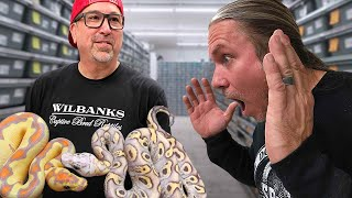 A MAN WITH 4000 SNAKES!!! DAY 3 | BRIAN BARCZYK