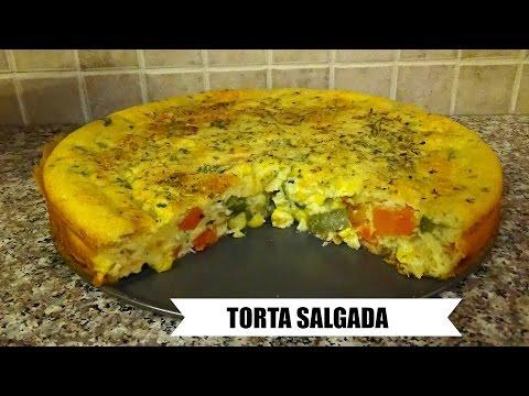 Brazilian Vegetable Pie - Torta Salgada