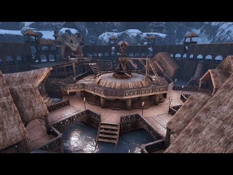 HOW TO BUILD A NORTHERN FORTRESS - Conan Exiles  