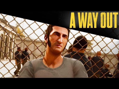 ESCAPING FROM PRISON! ( A Way Out ) w/ Chrises-Face