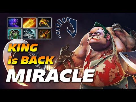 Miracle Epic Pudge - KING IS BACK - Dota 2 Pro Gameplay