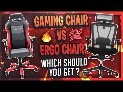 Gaming Chair VS Ergonomic Chair? Which Should You Get?