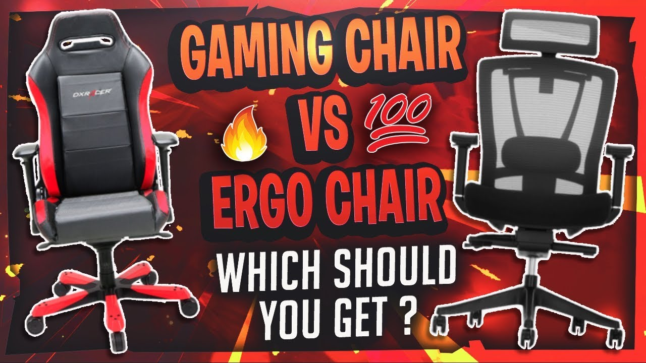 Gaming Chair Vs Ergonomic Chair Which Should You Get Youtube
