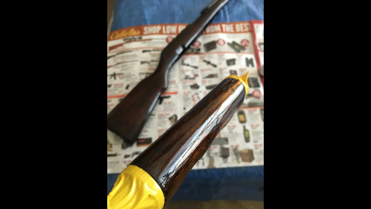 Simple Way To Refinish A Stock