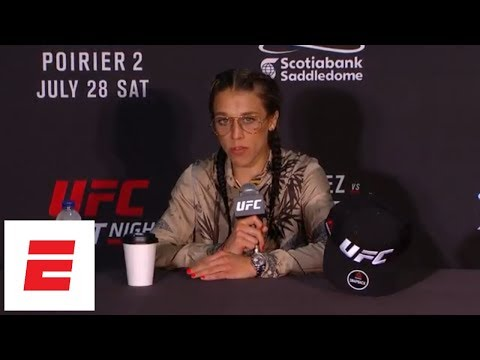 [FULL] Joanna Jedrzejczyk UFC Calgary post-fight press conference | ESPN