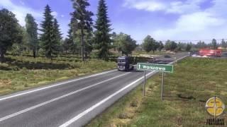 Euro Truck Simulator 2 — трейлер дополнения Go East
