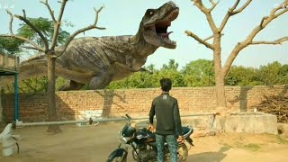 Jurrasic World in Real Life | Fan Made Movie | Edit With Mobile