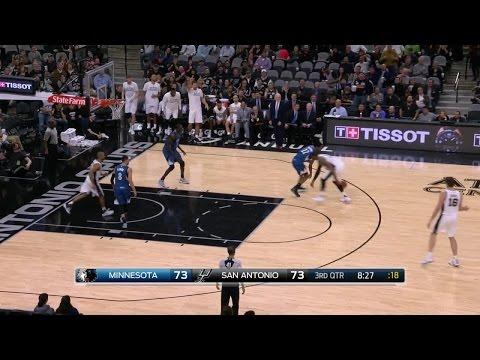 Quarter 3 One Box Video :Spurs Vs. Timberwolves, 1/17/2017 12:00:00 AM