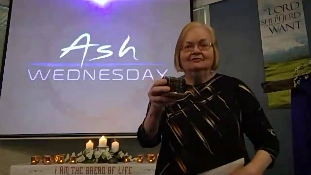 "February 17, 2021 ~ Rev. Julia Price ~ ""Ash Wednesday"""