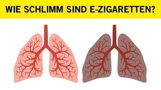 Wie schlimm sind E-Zigaretten?